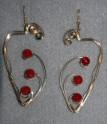 Large Carnelian Earrings