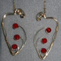 Large Carnelian Earrings
