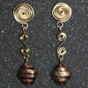 Gold-Filled Wire with Glass Beads