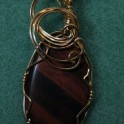 Red Tiger-eye Pendant