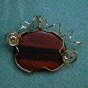 Oval Red Tiger-Eye