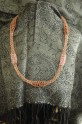 Viking Knit Copper Wire Necklace